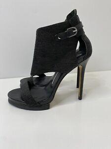 Camilla Skovgaard Black Stilletto Heel Size 40 EUC