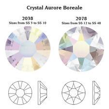 Wholesale Swarovski Elements Hot-fix Ss16 4mm Crystal AB Flat Back Cut 2078