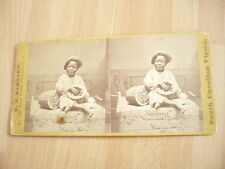 photo enfant noir pasteque stéréo 1880 south carolina view water melon eater