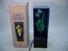 Vtg Fiber Optic Star Light & Music Box Color changing Hummingbird 1988