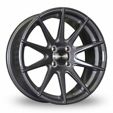 "17"" BOLA CSR ALLOY WHEELS TITANIUM FIT FORD FIESTA FOCUS FUSION ESCOURT 4X108"