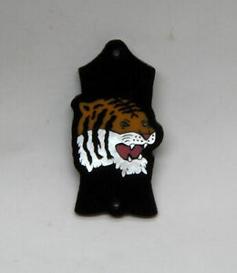 Truss Rod Cover with Tiger Head Inlay will fit Gibson