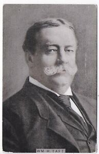 (5683) 1908 Postcard  President William H. Taft  Lightly Colored View