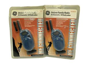 GE Deluxe Family Radio Walkie Talkie Pair 35810GC3