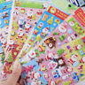 Kawaii New 3D Merry Christmas Decorative Stickers Adhesive DIY Diary Stickers