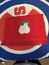 Snowman Small Towel