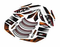 KTM Graphics Kit Stickers Decal Kit 200 Duke 2012-2018 125 390 Duke 2013-2016