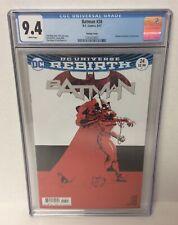 Batman DC Universe Rebirth #24 Variant CGC 9.4 Graded White Pages Comic Book