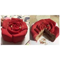 2pcs Silicone  Cake Pan Jelly Cake Mould Mold DIY Baking Tins Pans Set