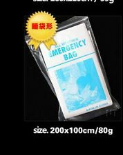 Emergency Survival Outdoor Kit Rescue Thermal Space Sleeping Bag Blanket 84*36in