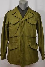 VTG M1943 Field Jacket WWII 1940's Military Armed Service Army M43 34R Original