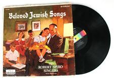 BELOVED JEWISH SONGS BY THE ROBERT SPIRO SINGERS, VINYL RECORD