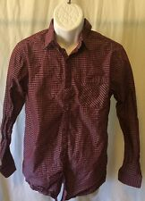 Structure Brand Men's Dress Shirt Size S/C Modern Fit Long Sleeve Multi-ColoredR