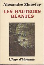 C1 RUSSIE Alexandre ZINOVIEV Les HAUTEURS BEANTES EO 1977 Dystopie Totalitarisme