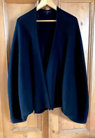 COS Schwarz One Size Pulli Cardigan Neu Japanese Pleats