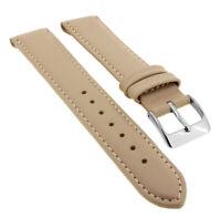 Minott Ersatzband Clipband aus Leder in beige mit Ton in Ton Naht > 33125