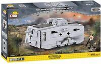 Cobi Petit Armée - Sturmpanzerwagen A7V Construction Jouet Enfants Gris