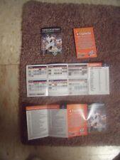 2012 Jose Valverde Detroit Tigers (American League) Spanish pocket schedule
