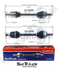 For Honda Accord Acura L4 Standard Pair Set Front Left & Right CV Axle Shafts