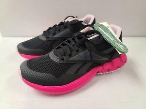Reebok ZTUAR Run Womens Running Shoes GY5830 Black/Pink Size 10.5
