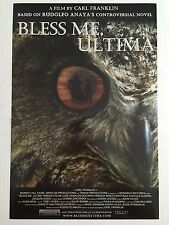 BLESS ME, ULTIMA 11.5x17 PROMO MOVIE POSTER