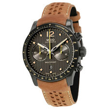 Mido Multifort Anthracite Dial Automatic Mens Chronograph Watch