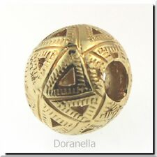 Authentic Trollbeads 18k Gold 21812 Triangles Gold 7