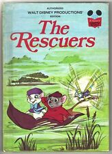 Disney's Wonderful World Of Reading Book ~ THE RESCUERS