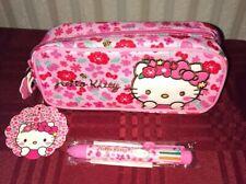 Sanrio Hello Kitty Pen Pencil Case Cosmetic Makeup Pouch & Pen