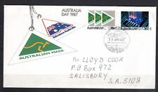 1987  FIRST DAY COVER (23.1.1987)  AUSTRALIA DAY 1987