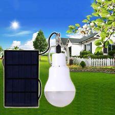 Lampe Panneau Solaire LED Extérieur Jardin Lumière Blanc Patio Ampoule Light NF