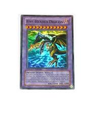 FIVE-HEADED DRAGON - SD09-ENSS1 - Ultra Rare Holo Foil Card YuGiOh Card