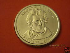 2008-D  BU Mint State (Andrew Jackson) Presidential US One Dollar Coin