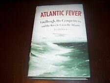 ATLANTIC FEVER Charles Lindbergh Aviation Race Aircraft History Pioneer Book NEW