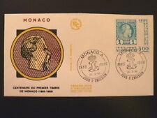 MONACO PREMIER JOUR FDC YVERT  1458       1 ER TIMBRE        3F       1985