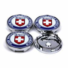"4Pcs 60mm 2.36"" HRE Logo  Hub Cover Badge Emblem Sports Racing Wheel Center Caps"