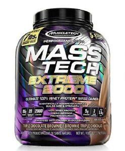 MASS TECH EXTREM 2000 3.2Kg Triple chocolate Brownie MUSCLETECH Proteina Hidrato