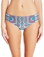 Nanette Lepore 155092 Women's Paros Paisley Doll Bikini Bottom Size Small