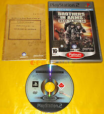 BROTHERS IN ARMS ROAD TO HILL 30 Ps2 Versione Italiana Platinum ○○ COMPLETO - C4