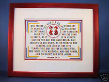 """New! Bible Verse Plaques/Signs """"THE LORD'S PRAYER"""" Christian,Children Gifts $45."""