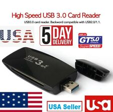 USB 3.0 Multi Slot Flash Memory Card Reader  CF MS SDXC Micro SD T-Flash