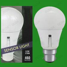 6.5w ( 40w) LED GLS Dusk Till Dawn Sensor Security Night Light Bulb BC B22 Lamp