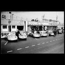 Photo A.013023 PORSCHE 550 SPYDER 24 HEURES DU MANS 1954 24H LE MANS RACE