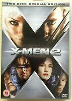 X Men 2 DVD 2003 Marvel Universe Supereroe Film 2-Discs
