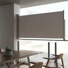 Sol Royal P14 Plastic PVC Privacy Screen Garden Balcony WxH 500x160cm Dark Grey