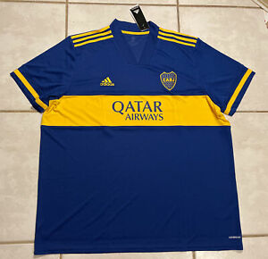 NWT ADIDAS Boca Juniors 2020/2021 Jersey Men's 3XL GL4175
