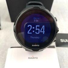 Suunto Spartan Smart Watch Activity Tracker Wrist HR Black Silicone Strap Sport