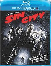 Sin City Blu-Ray (2005, digital Hd Ultravioet) *New,Sealed*,