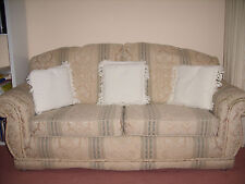 Sofa 2-3 Seater Rich Fabric. Great neck support. Super comfy. Read Description.