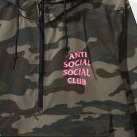 Anti Social Social Club EZ Jacket Anorak ASSC SMALL Deadstock Authentic NIB